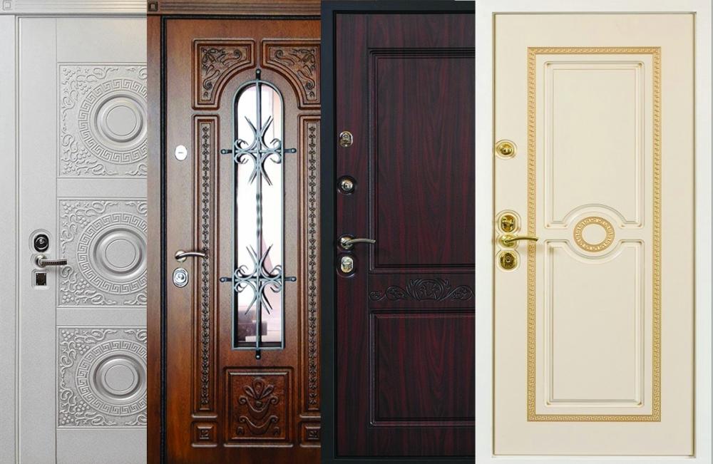 металлические входные двери от прои
